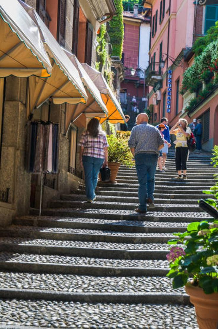 the heart of Bellagio