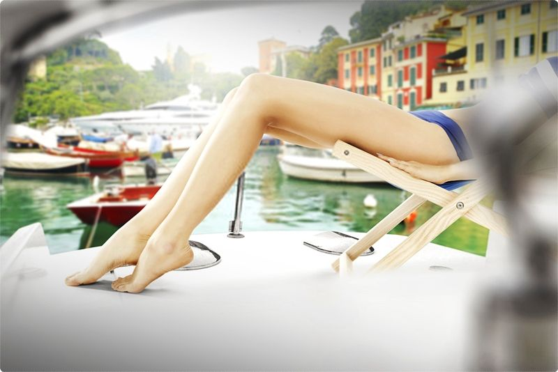 Portofino is a delightful town of pastel shaded houses around a half-moon shaped harbor repleat with shops, eating places, cafes, and high-class hotels.