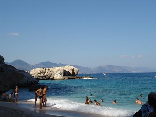 Finding out Cala Mariolu, a pebble seashore segmented by large limestone rocks on Sardinia's east coast, takes some effort